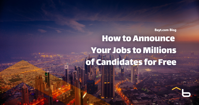 How to Announce Your 库博体育直播 to Millions of Candidates for Free