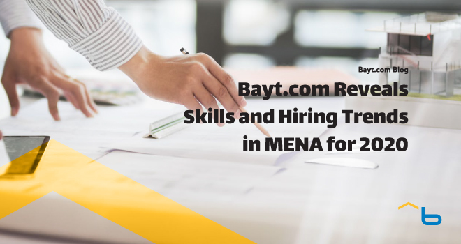 Bayt.com Reveals Skills and Hiring Trends in MENA for 2020